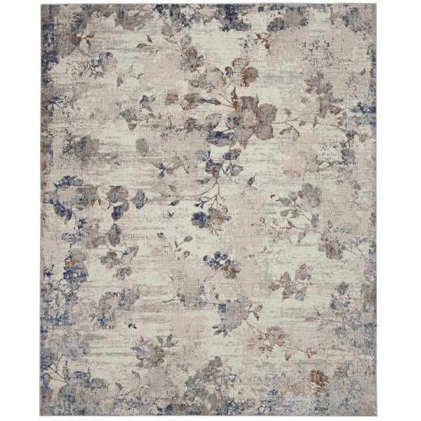 Picture of EMMA RUG IVORY GREY 5X7