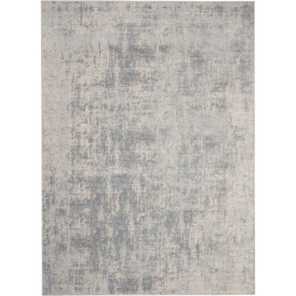 Picture of IVORY SILVER 7X10 HARPER RUG