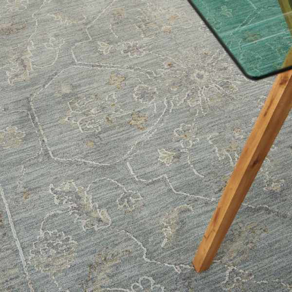 Picture of EVERLY RUG BLUE 5X7