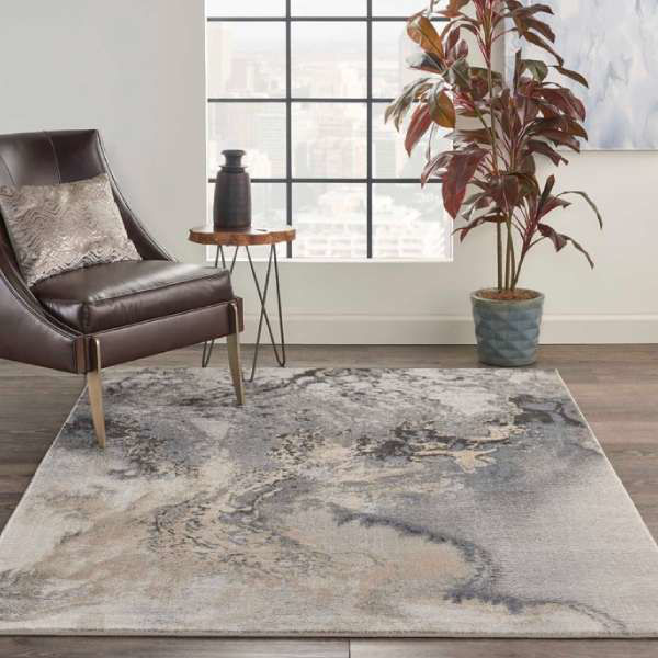Picture of MAXWELL RUG GREY 5X7