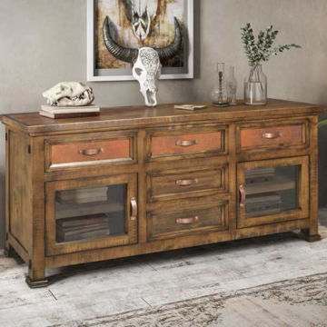 """Picture of COPPER CANYON 66"""" TV CONSOLE - 2245"""