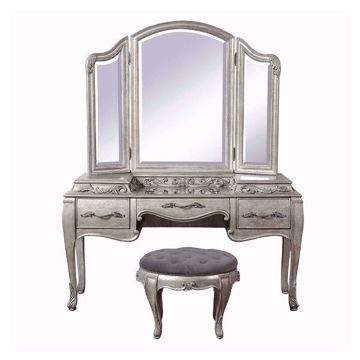 Picture of BRIANNA VANITY STOOL - 7881