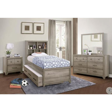 Picture of RIVERCREEK BOOKCASE BED SET - TWIN