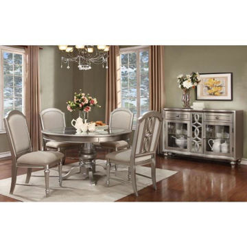 Picture of CHRISTIAN ROUND DINING SET - 481