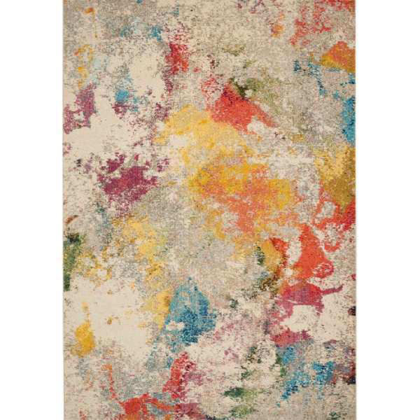 Picture of IVORY MULTI 7X10 COSMIC RUG