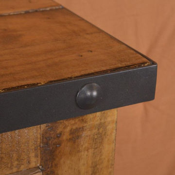 Picture of URBAN RUSTIC NATURAL WINE CABINET - H8365