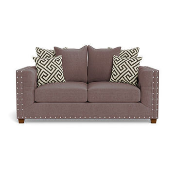Picture of ARIEL CHARCOAL LOVESEAT - 429