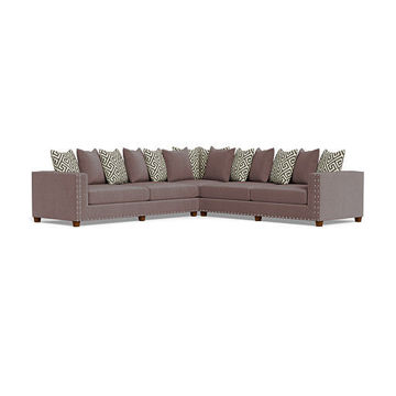 Picture of ARIEL CHARCOAL SECTIONAL - 429