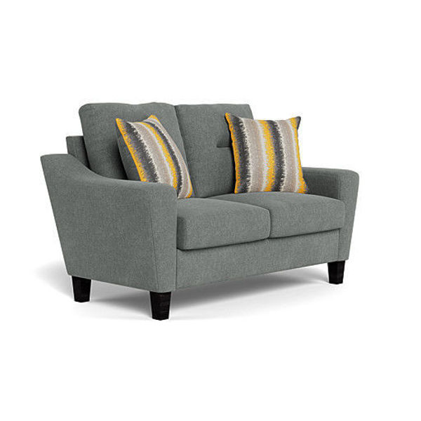 Picture of MONROE GRAY LOVESEAT - 1177