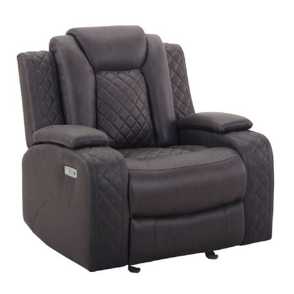 Picture of DYER CHOCOLATE GLIDER RECLINER - U1716