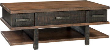 Picture of STANAH 2 TONE LIFT TOP COFFEE TABLE - T892