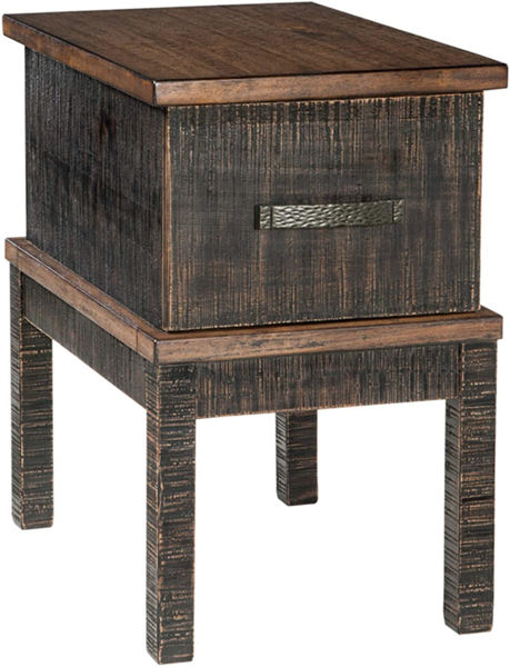 Picture of STANAH 2 TONE CHAIR SIDE TABLE - T892
