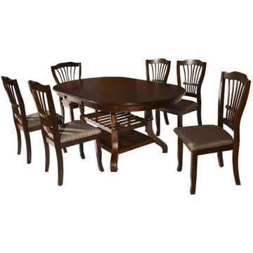 Picture of EMMA ESPRESSO DINING CHAIR - 2541