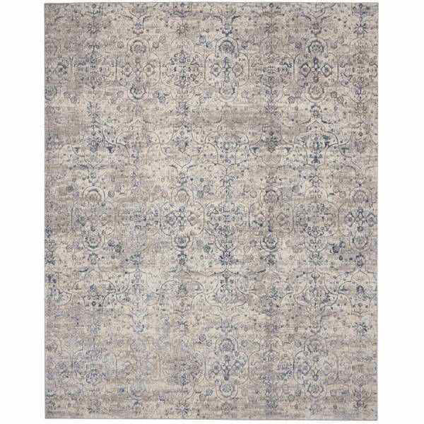 Picture of EMMA RUG BEIGE BLUE 5X7