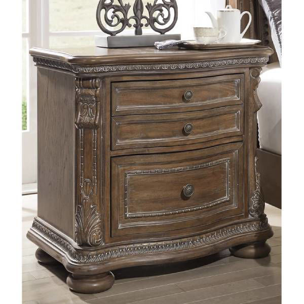 Picture of CHATEAU TWO DRAWER NIGHTSTAND - B803