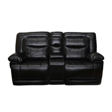 Picture of OLIVER BLACK POWER CONSOLE LOVESEAT - 246