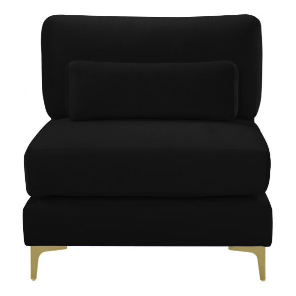 Picture of BLACK ARMLESS CHAIR