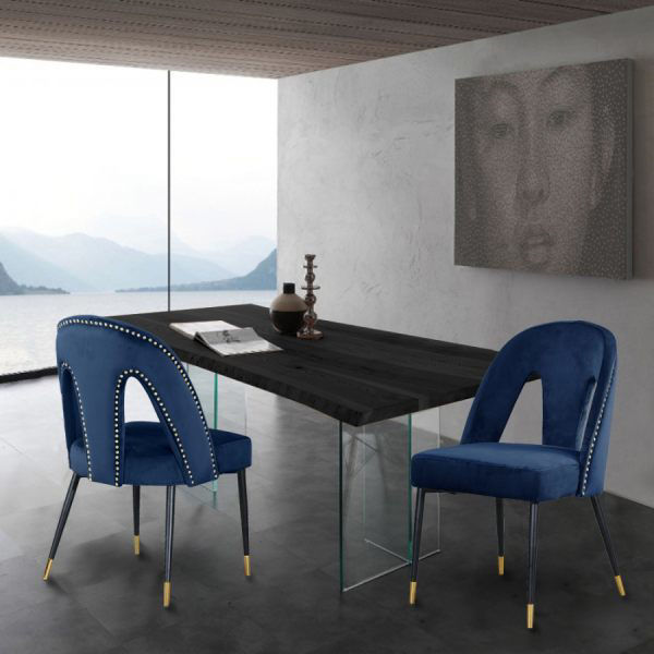 Picture of AKOYA NAVY DINING CHAIR