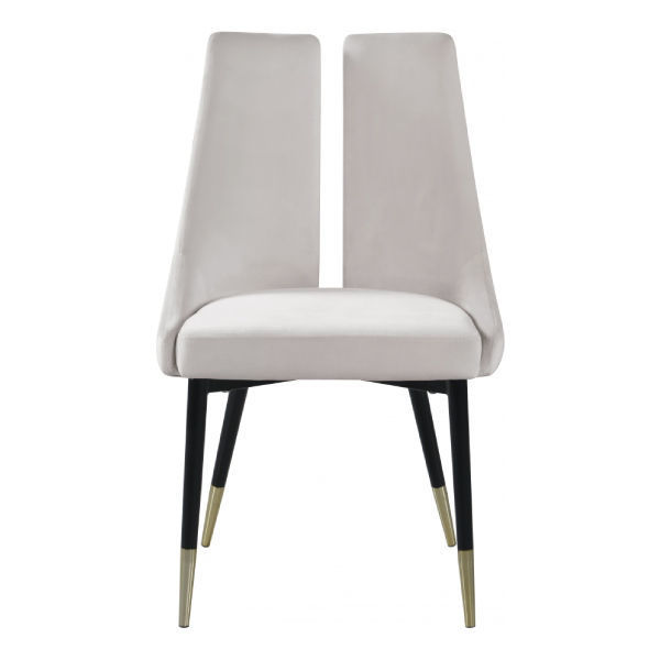 Picture of SLEEK CREAM DINING CHAIR