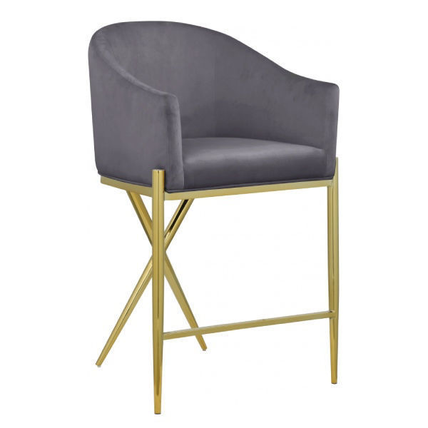 Picture of XAVIER GREY COUNTER STOOL