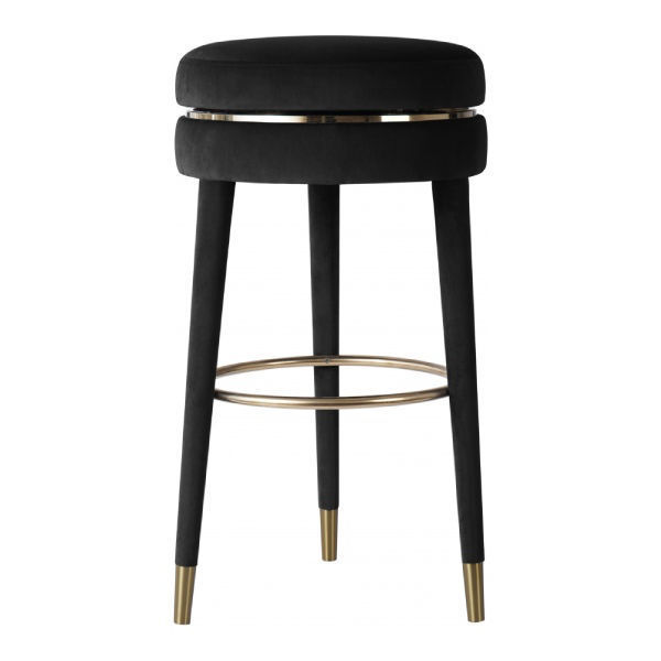 Picture of CORAL BLACK COUNTER STOOL