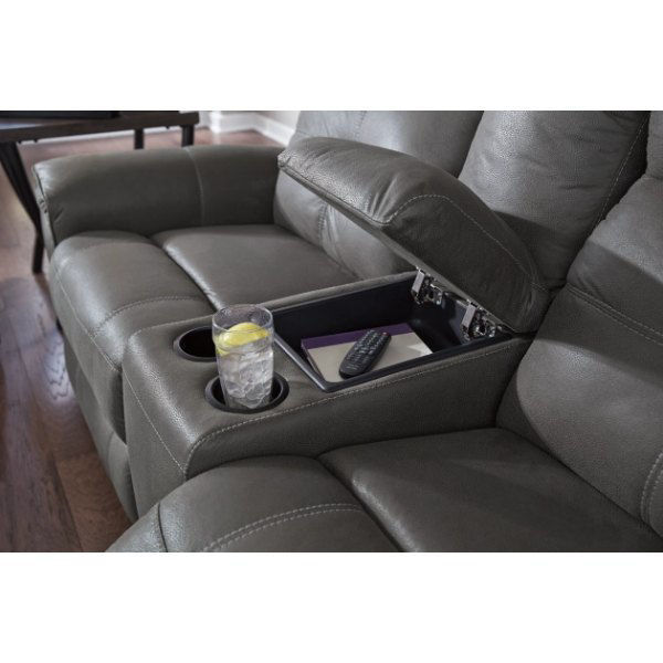 Picture of IMPERIAL GREY RECLINING SET